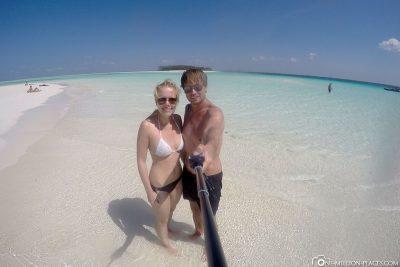 A beautiful sandbank