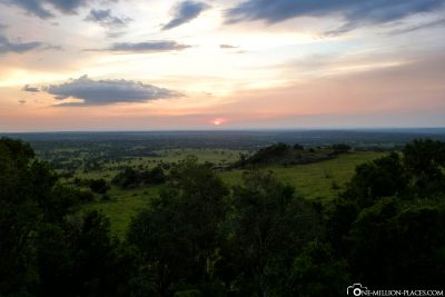 Der heutige Sonnenuntergang