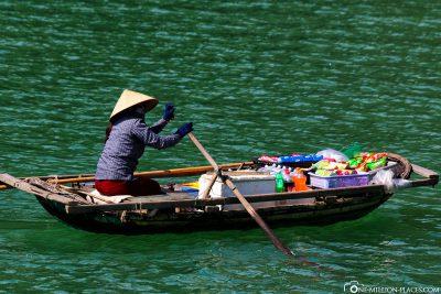 A floating trader