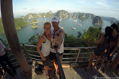 The great view of Halong Bay