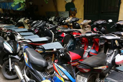 The countless mopeds and scooters