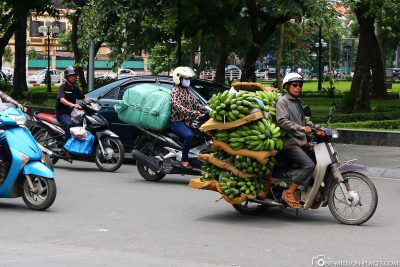 Bananentransport