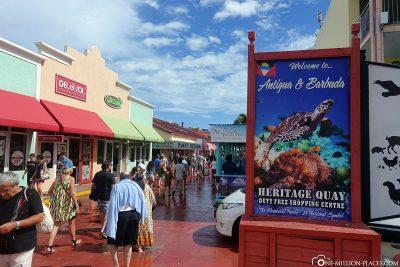 Willkommen in Antigua