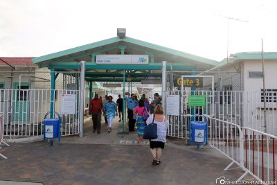 The port terminal