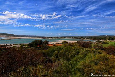 Die Bucht der Küstenstadt Kalbarri