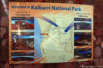 Der Kalbarri Nationalpark