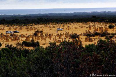 Nambung Nationalpark – Pinnacles Desert