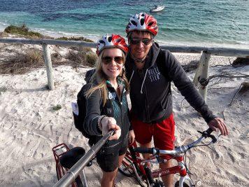 Die Insel mit dem Fahrrad erkunden