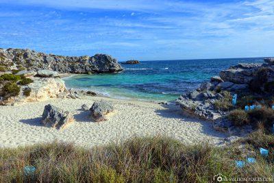 Der schöne Strand