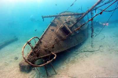 Wreck diving in Barbados