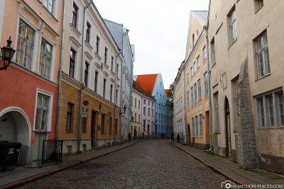Die bunten Gassen in Tallinn