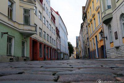 Die Pflasterstraßen in der Altstadt