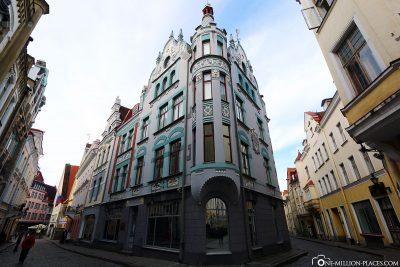 Die Häußer in der Altstadt