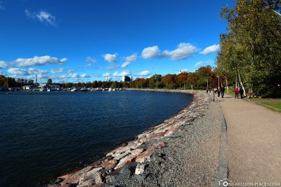 Promenade in Hietaniemi