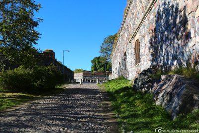 Die Wege auf der Insel