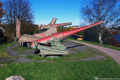Alte Kanonen