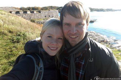 Die Festungsinsel vor Helsinki