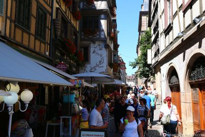 The alleys of the old town