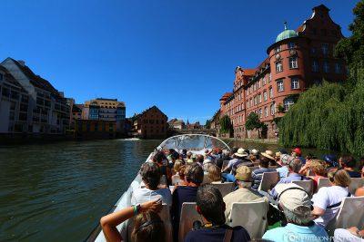 Boat trip along the Ill