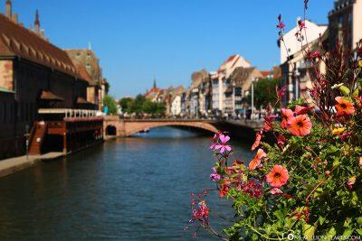 The River Ill through Strasbourg