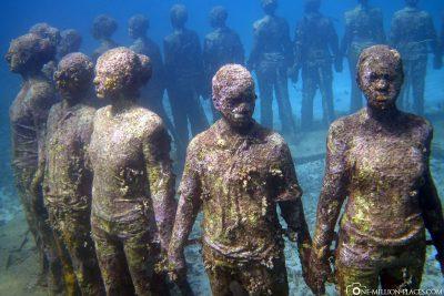 Der Unterwasser-Skulpturenpark in Grenada