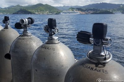 The submersible of Aquanauts Grenada