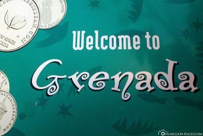 Willkommen in Grenada
