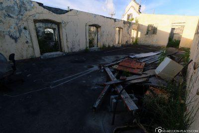 Der schlechte Zustand der Festung
