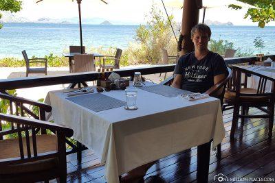 Das Restaurant im Resort