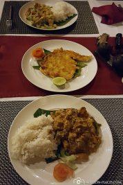 Das leckere Essen