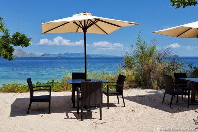 Die Aussicht vom Restaurant