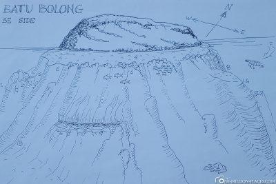 Der Tauchspot Batu Bolong