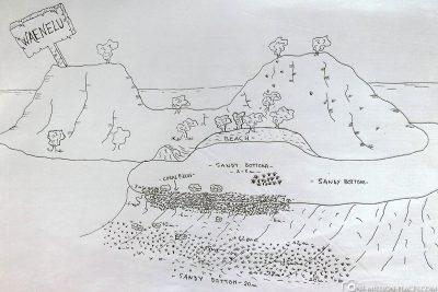 Der Tauchspot Waenelu