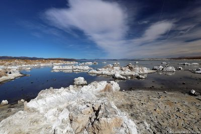 Lime tuff formations at Mono Lake