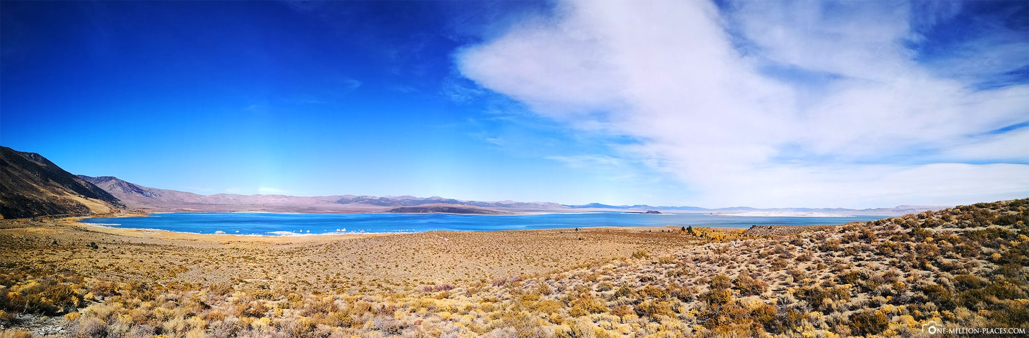 Mono Lake, Panoramic View, California, USA