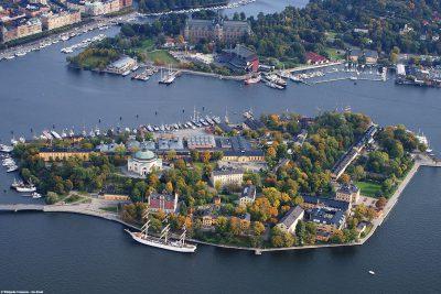 The island of Skeppsholmen