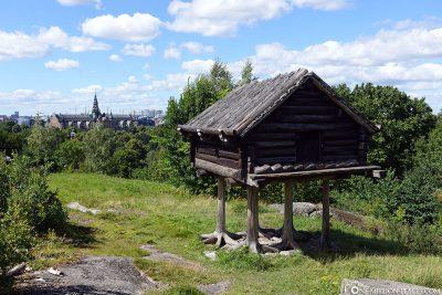 Old houses in Skansen
