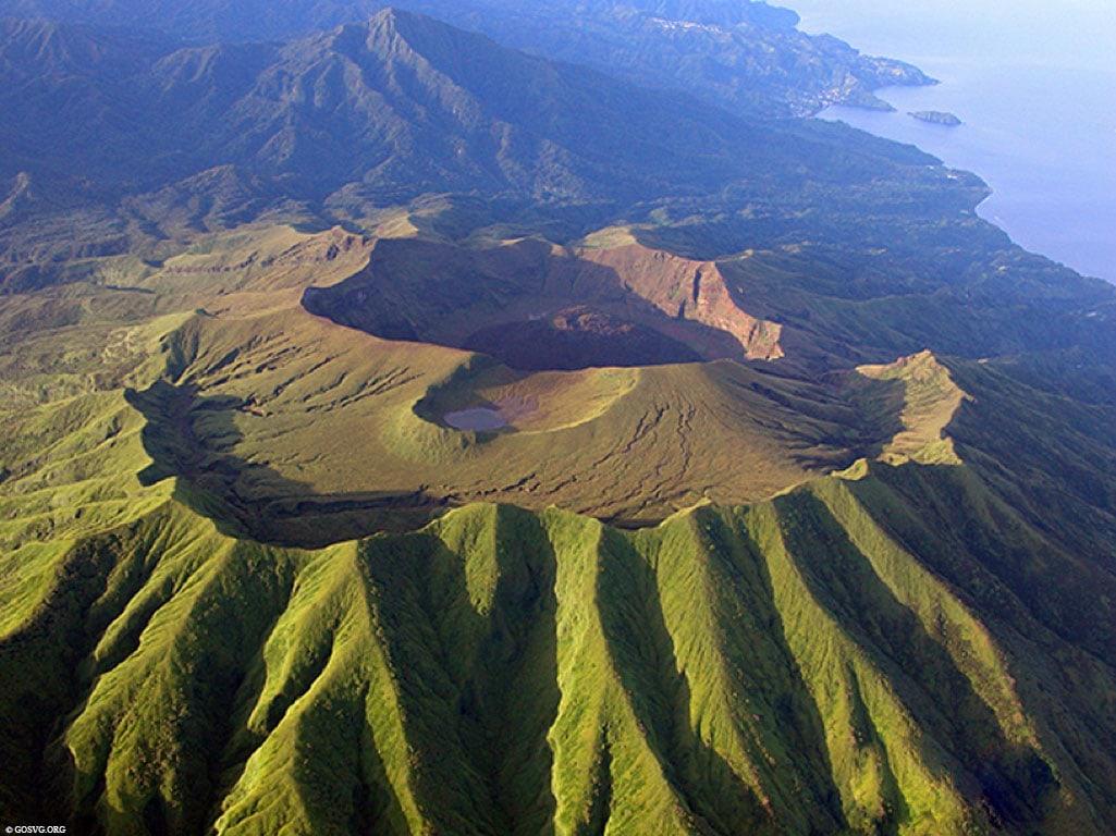 Volcano La Soufriere, Saint Vincent, Caribbean, Tour, Cruise, TravelReport