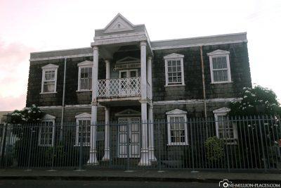 The Carnegie Building in Kingstown