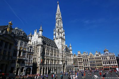 The Town Hall on the Grand Place