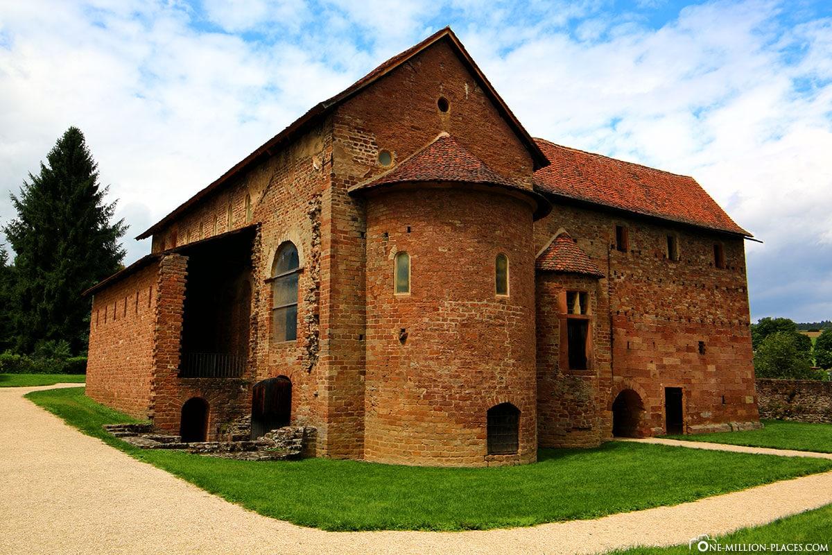 Einhardsbasilika, Kirchenbau, Odenwald, Steinbach, Michelstadt, Karolingische Baukunst, Hessen, Deutschland