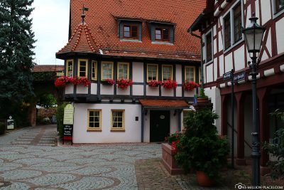 The old town of Michelstadt