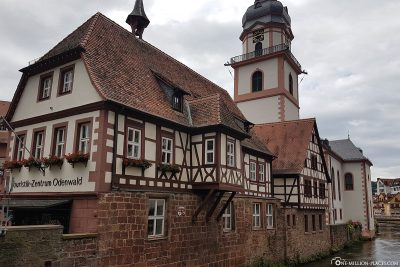 Old town hall in Erbach