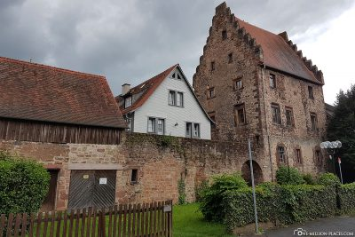 The old town of Erbach