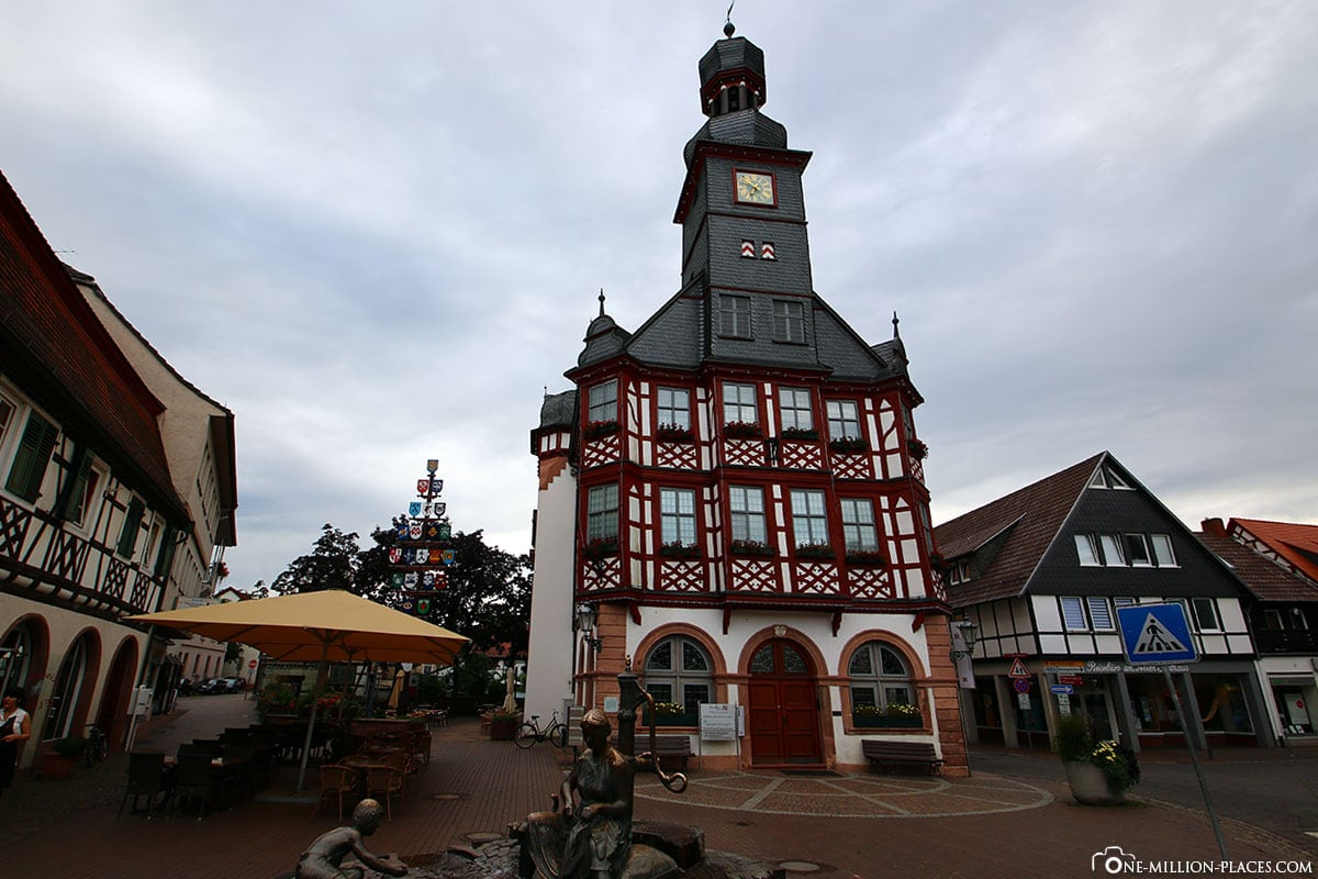 Town Hall, Lorsch, Hesse, Germany