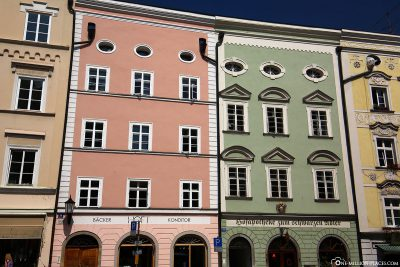 The old town of Passau