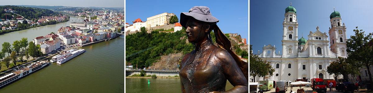 Passau Sehenswürdigkeiten Headerbild