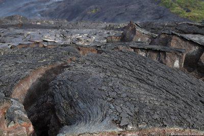 Die Lavafelder von Kalapana