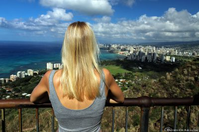 The view from Diamond Head