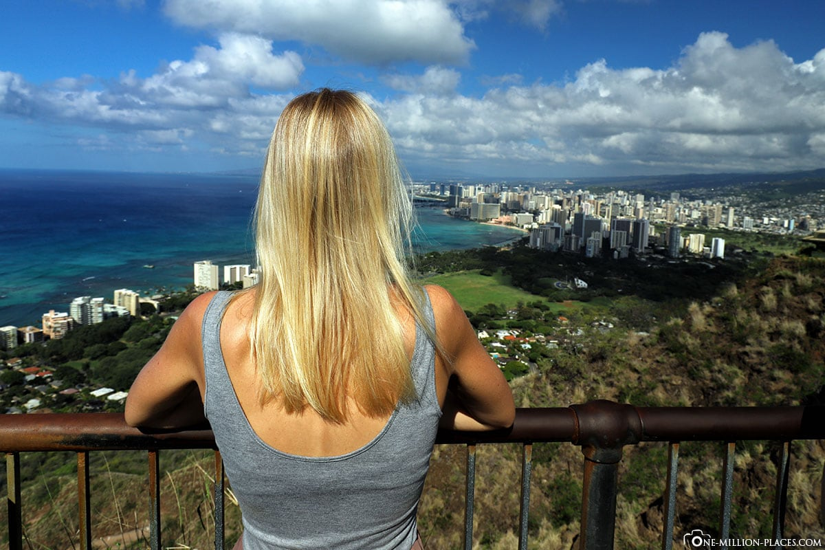 Diamond Head Crater, View, Honolulu, Hike, Honolulu, Oahu, National Park, Hawaii, USA, Photo Spot, TravelReport